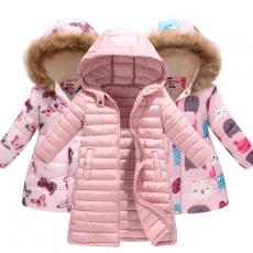 Пуховики, куртки, комбинезоны, костюмы (Для девочек)